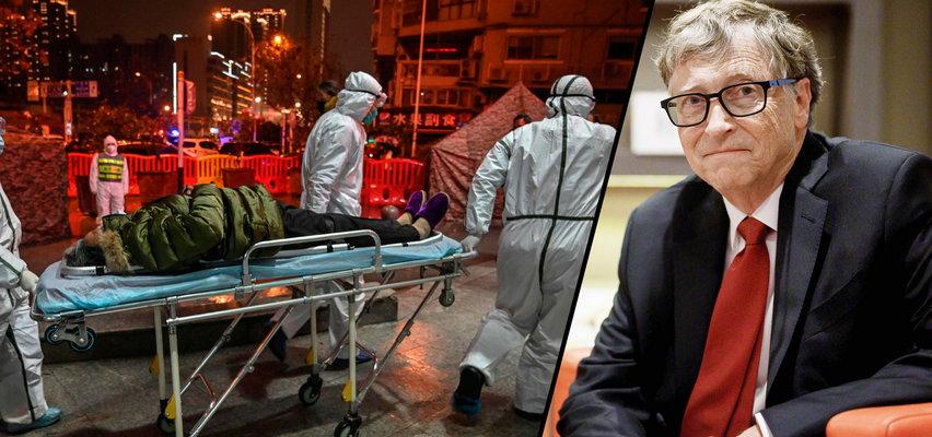 """Bill Gates o tym, jak pokonać pandemię. """"Jedyne rozwiązanie..."""""""
