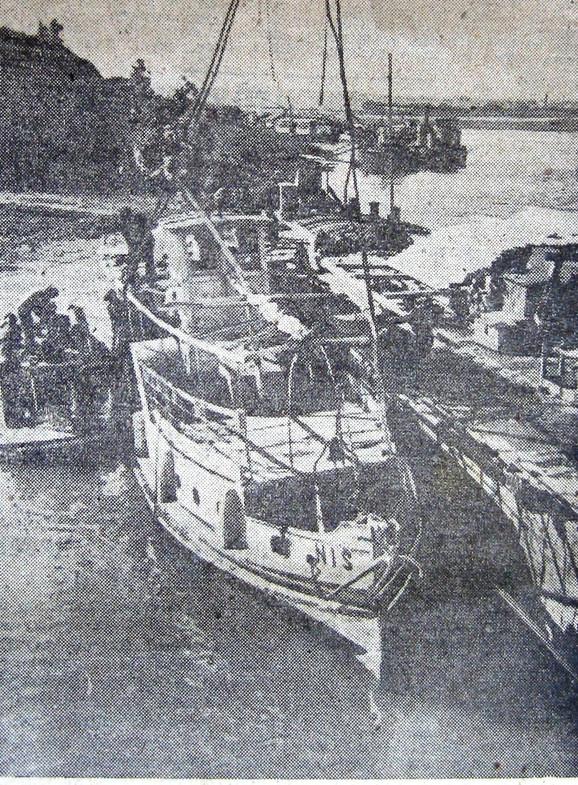 """Brod """"Niš"""" je nakon izvlačenja sa dna reke izgledao gotovo neoštećen"""