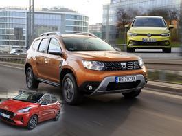 Hyundai i10, Dacia Duster, Volkswagen Golf. Nowe auta za 70 tys. zł - które kupić?