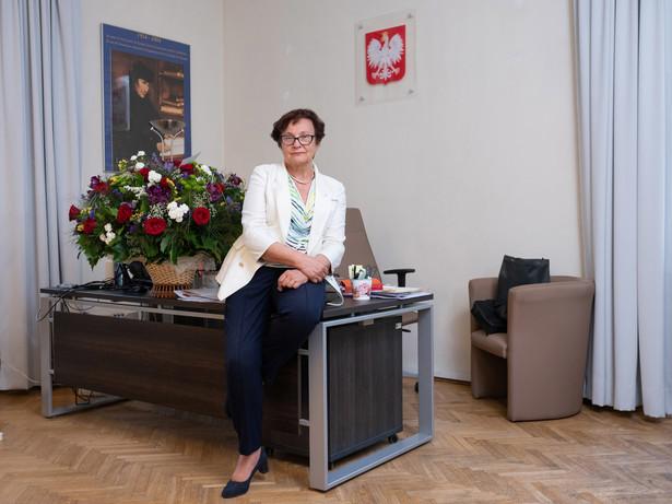 Hanna Machińska, zastępczyni rzecznika praw obywatelskich, doktor nauk prawnych, od lat zaangażowana we wdrażanie europejskich standardów w dziedzinie ochrony praw człowieka i prawa antydyskryminacyjnego do prawa polskiego.