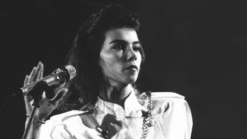 Edyta Górniak w 1990 roku