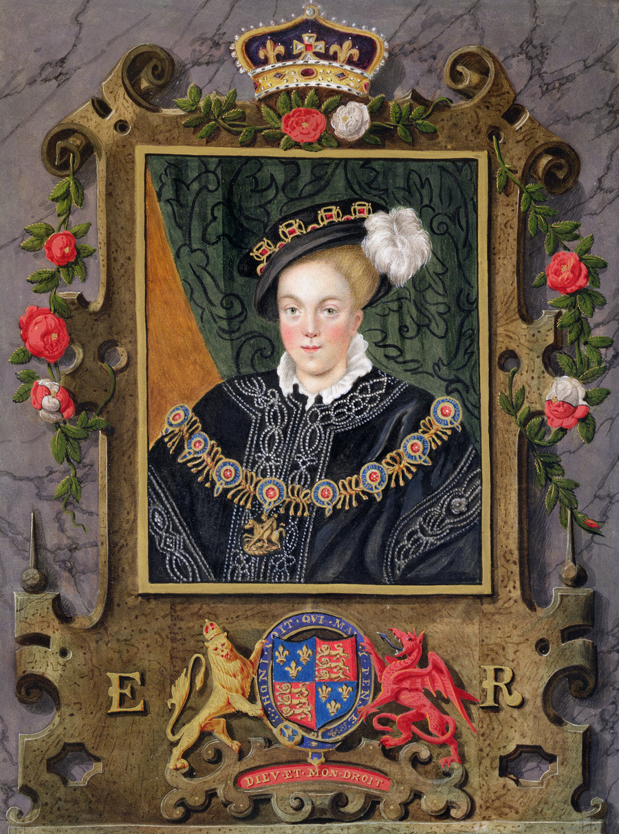Edward VI w wieku 14 lat / Heritage Images /GettyImages