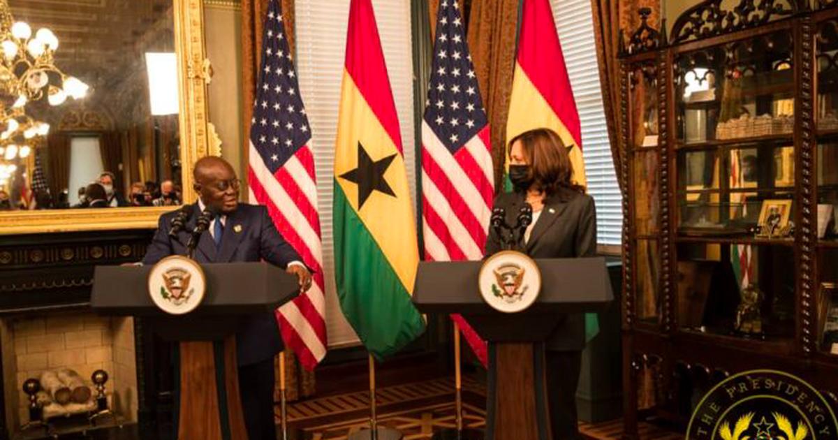 US to donate 1.3m Pfizer vaccines to Ghana soon - Harris to Akufo-Addo