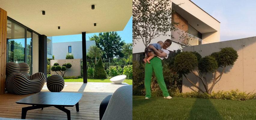 Maffashion pokazuje kolejne wnętrza swojego nowego domu. Nowoczesny wystrój i obrazy Sebastiana Fabijańskiego