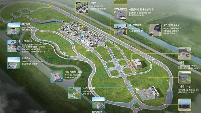 """W Korei powstanie """"miasto"""" dla autonomicznych aut"""