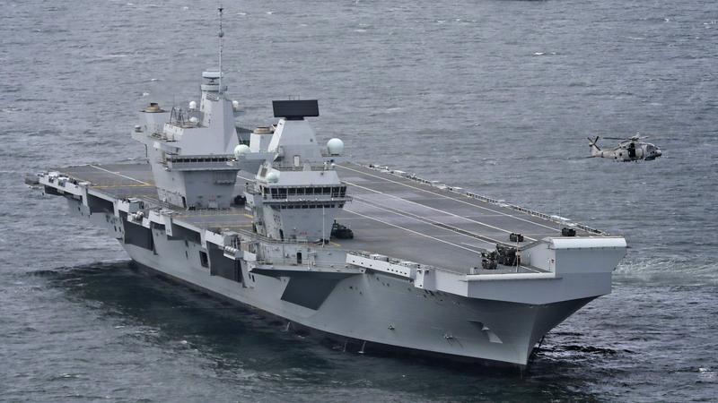 HMS Queen Elizabeth, najnowszy brytyjski lotniskowiec może być łatwym celem dla hakerów