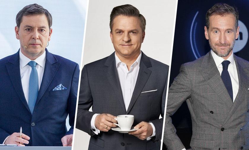 Michał Adamczyk, Bogdan Rymanowski i Piotr Kraśko