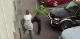 Bandzior skatował ją na ulicy. Policja odmówiła interwencji