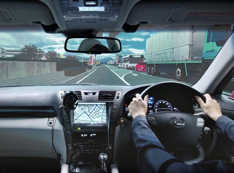 Symulator do badań kierowców stworzony przez Toyotę