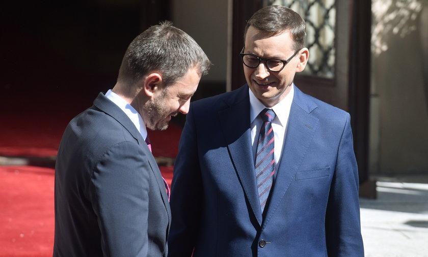 Premierzy Słowacji i Polski