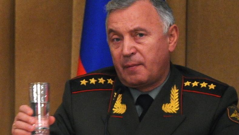 Gen. Nikołaj Makarow, fot. AFP