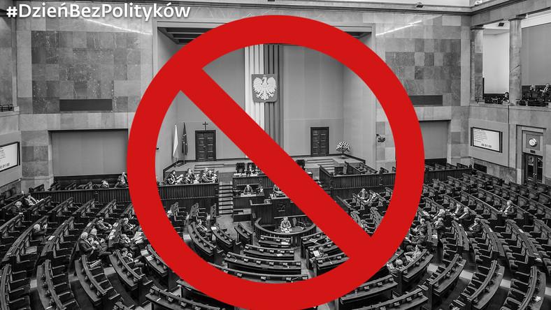 #DzieńBezPolityków