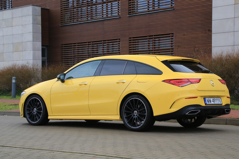 Mercedes CLA 200 Shooting Brake