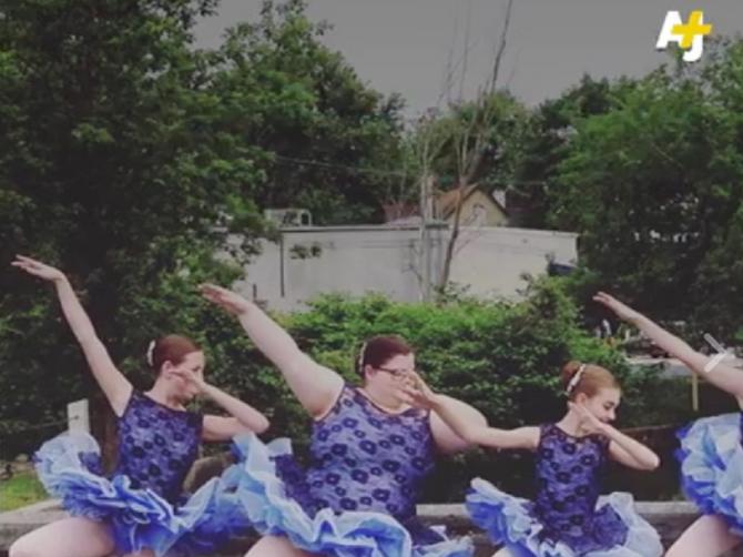 Ona razbija stereotipe! Ne samo one da plesačice moraju da budu mršavice, već i mnogo ozbiljnije, životne!