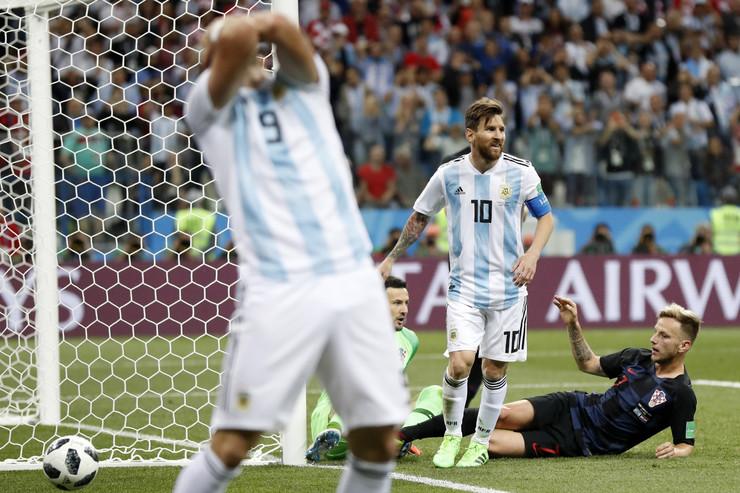 Fudbalska reprezentacija Argentine, Fudbalska reprezentacija Hrvatske