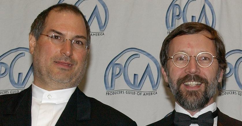 Ed Catmull był osobą, która chyba najdłużej współpracowała ze Steve'em Jobsem