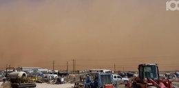 To nie jest scena z filmu! Burza piaskowa przeszła nad miastem