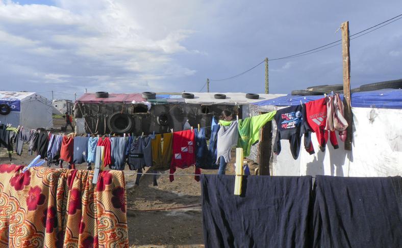 Obozowisko namiotowe