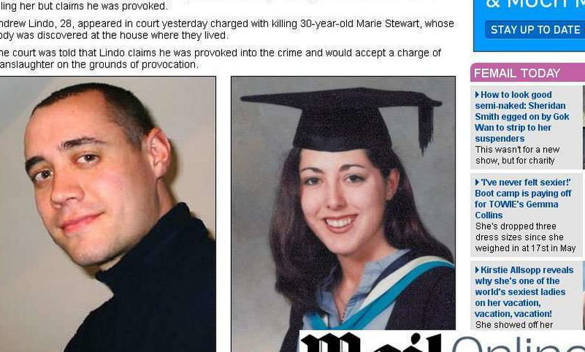 zabił narzeczoną i schował ją w walizce