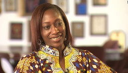 Hafsat Abiola-Costello is MKO Abiola's daughter and founder of KIND (Punch)