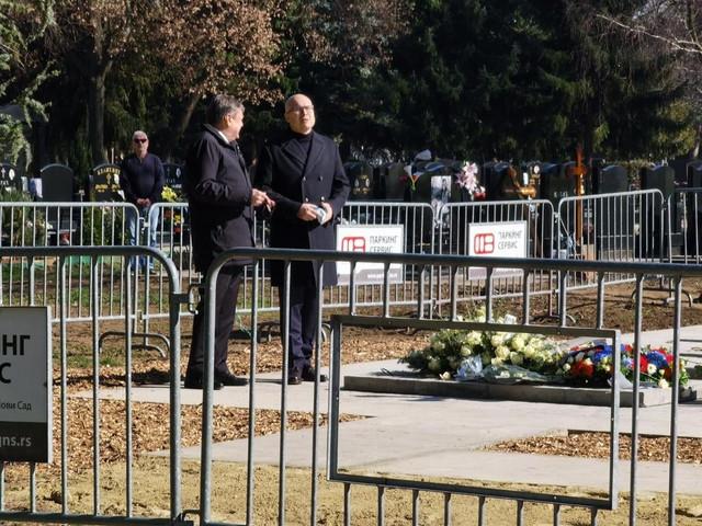 Vučević na sahrani sa gradonačelnikom