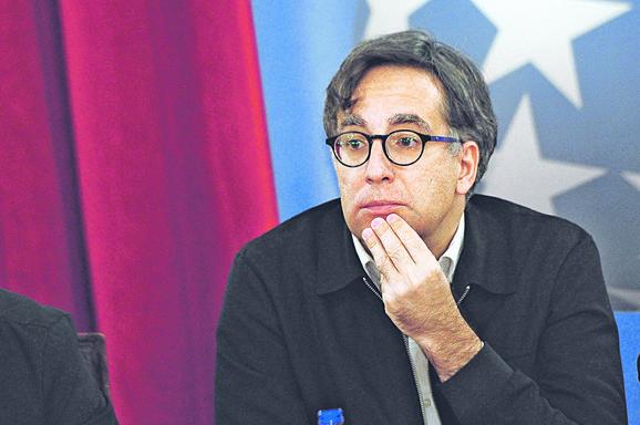 Ivan Medenica na današnjoj konferenciji za medije.