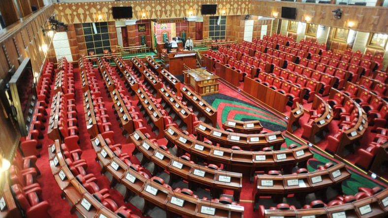 Kenya's national parliament.