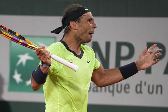 """""""TENIS POSTAJE TALAC"""" Rafa Nadal se žalio, zabrinut za budućnost """"belog sporta"""": Situacija će se pogoršati"""