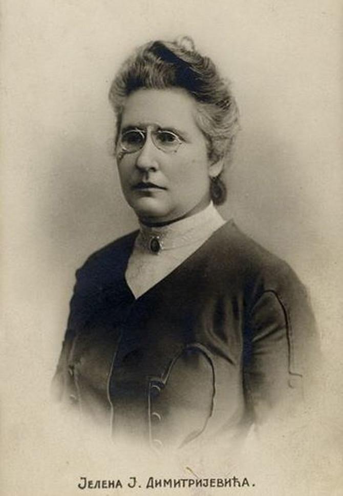 Jelena J. Dimitrijević bila je aktivna feiministkinja