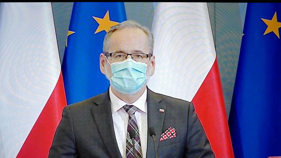 Koronawirus. Minister zdrowia powiedział, że w Polsce mamy do czynienia z trzecią falą