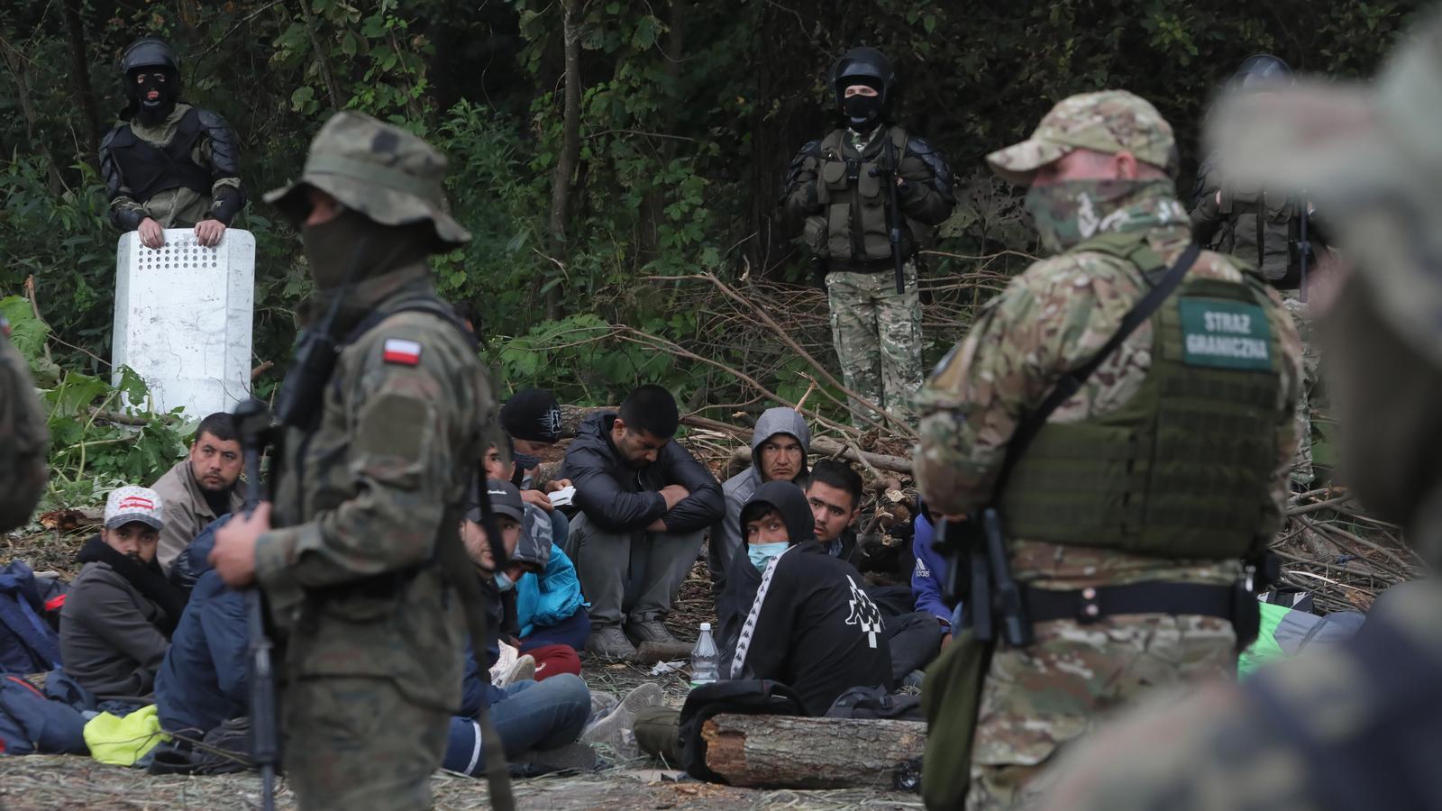 Łukaszenka wypowiedział Europie wojnę hybrydową, w której bronią są migranci