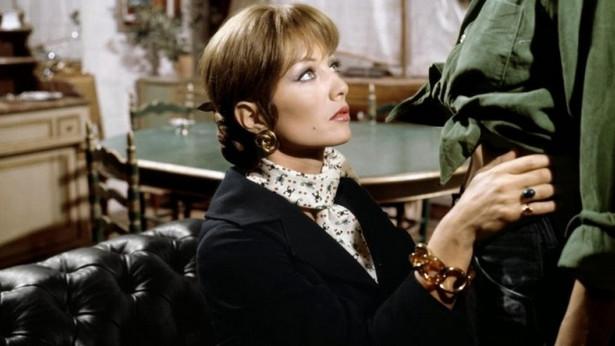 """Stephane Audran w filmie """"Łanie"""" (1968)"""