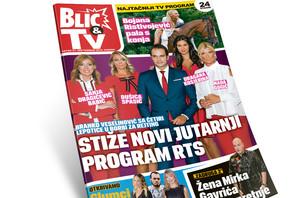 "Sutra uz ""Blic"" TV Magazin i ikona na poklon!"