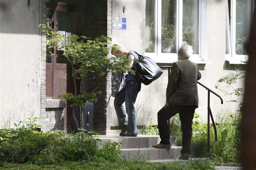 Kamila Łapicka nie pozwala mężowi się męczyć