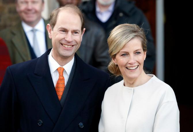 Sofi je udata za sina kraljice Elizabete - Edvarda