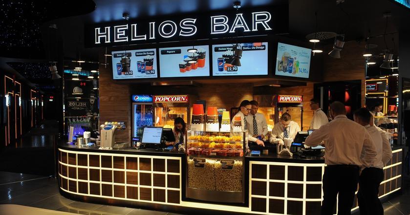 Sieć Helios czerpie ogromne przychody ze sprzedaży barowej