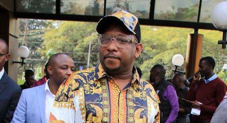 Nairobi Governor Mike Sonko at EACC HQ