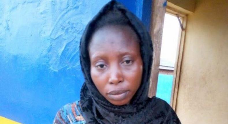 The suspect, Bisola Olukoya