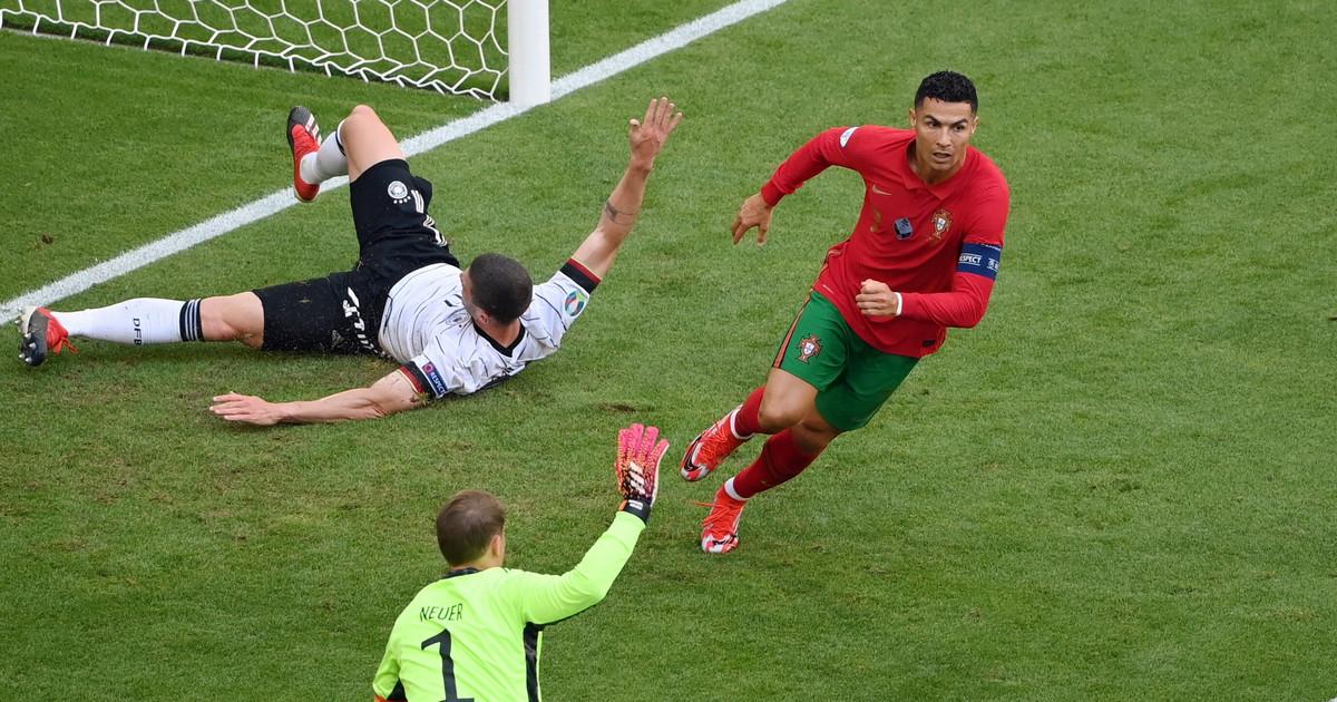 Portugalia - Niemcy. Co zrobił Cristiano Ronaldo? Szok. Euro 2020