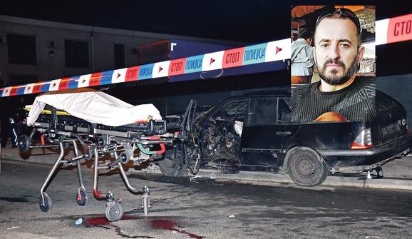 27. decembra 2018., Nenad Blagojević (48) raznet je u eksploziji u Zemunu