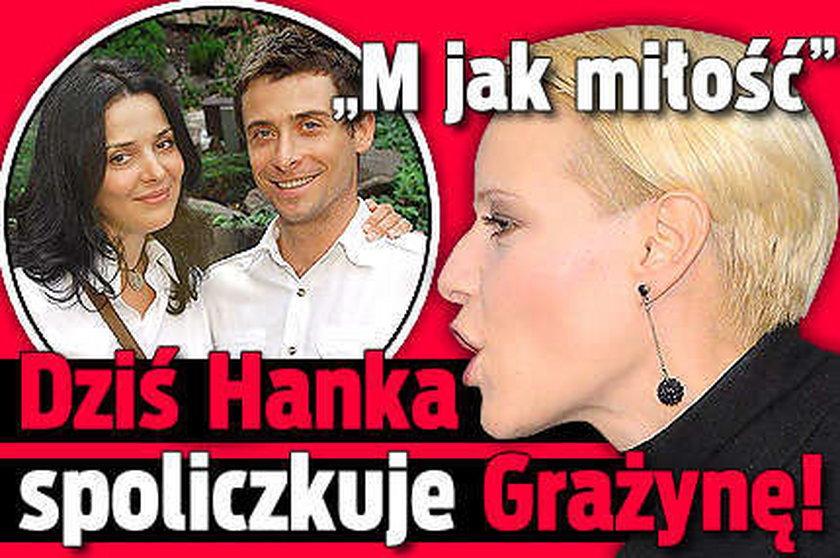 """""""M jak miłość"""". Dziś Hanka spoliczkuje Grażynę!"""