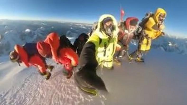 Wejście na K2
