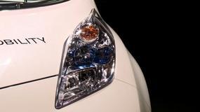 Nissan Leaf - źródło zasilania (Targi Paryż 2016)