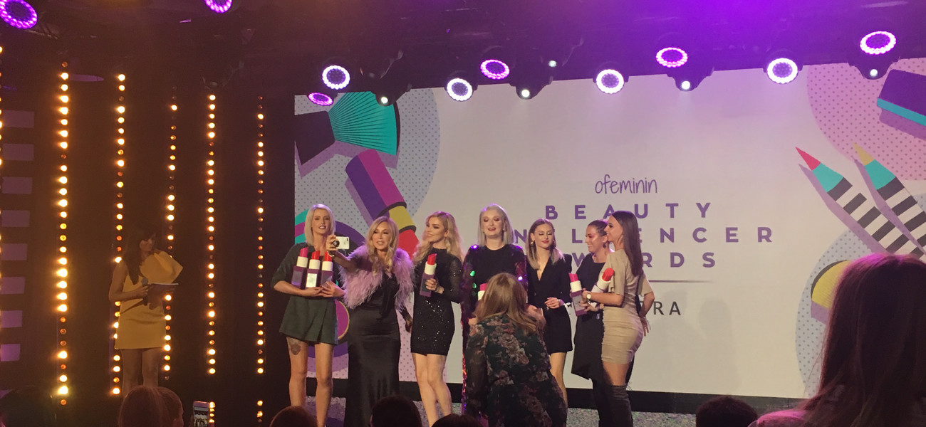 Laureatki ofeminin Beauty Influencer Awards powered by SEPHORA