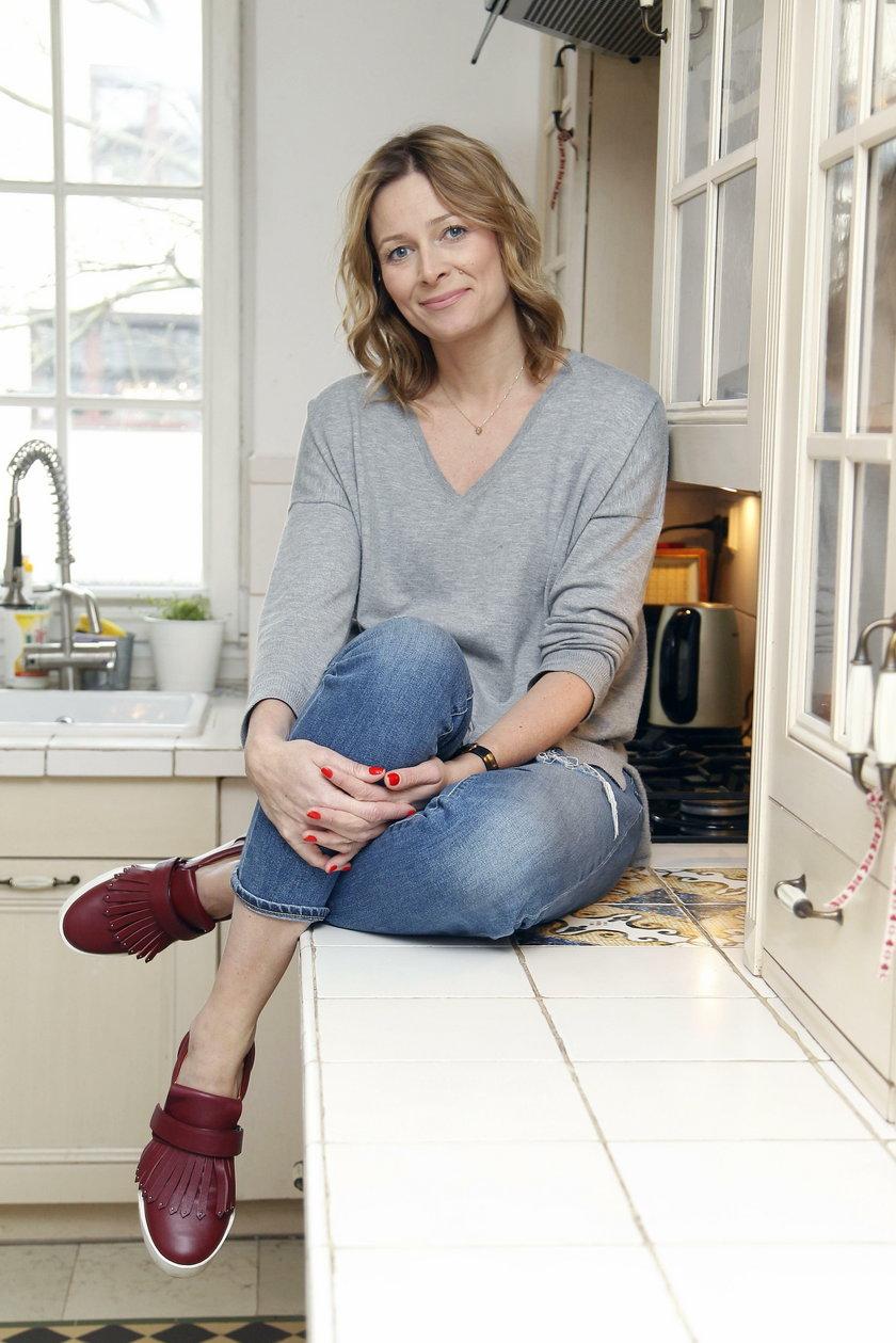 Odeta Moro w swojej kuchni