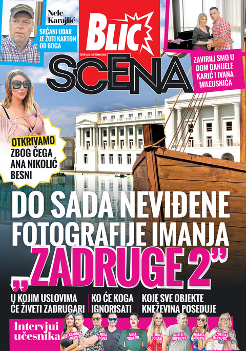 Nova Blic Scena donosi do sada neviđene fotografije imanja Zadruge 2!