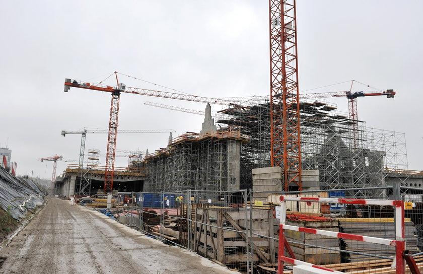 budowa dworca fabrycznego