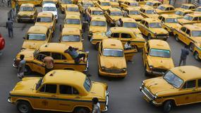 Tradycyjne żółte taksówki w Kalkucie przegrywają z technologią