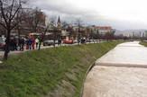 Miljacka Sarajevo reka vodostaj potraga