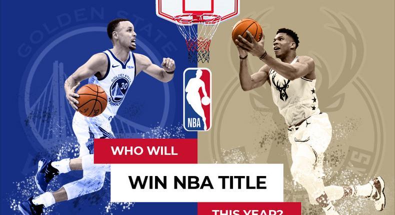 Golden State Warriors and the Milwaukee Bucks